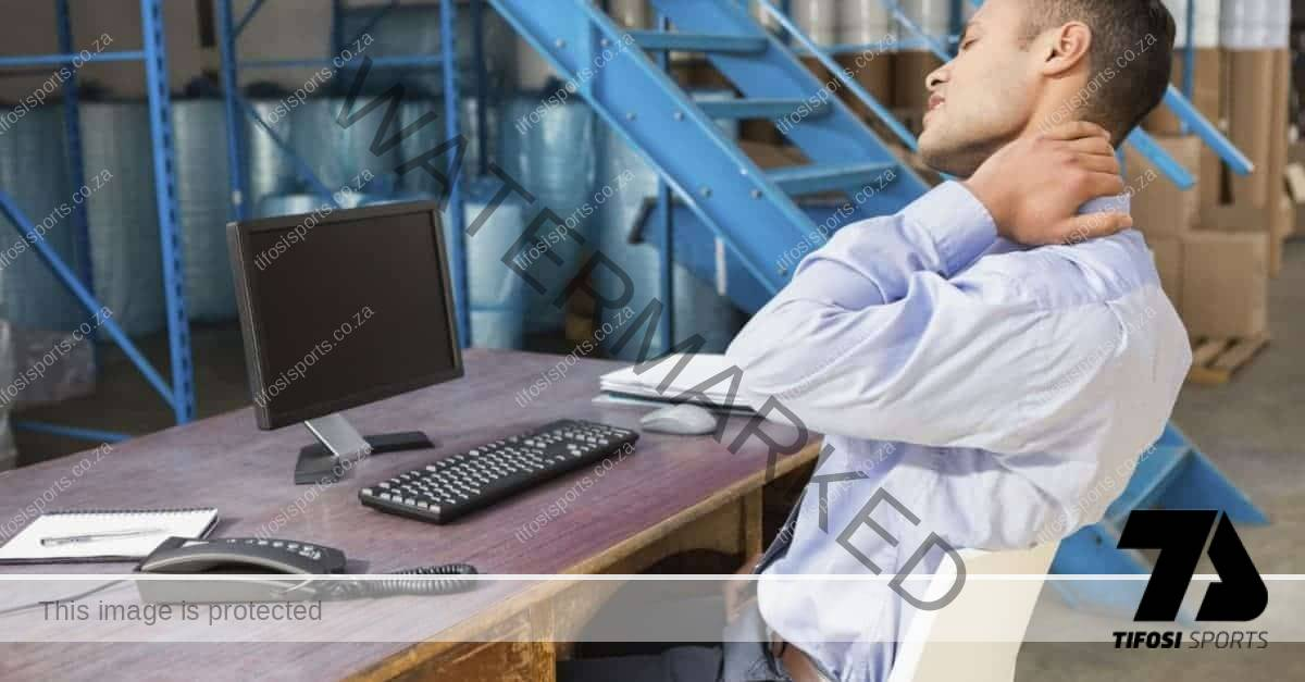 Job bending you out of shape? Try these 5 desk stretches!