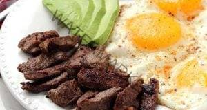 Steak, eggs and avocado - Tifosi Sports