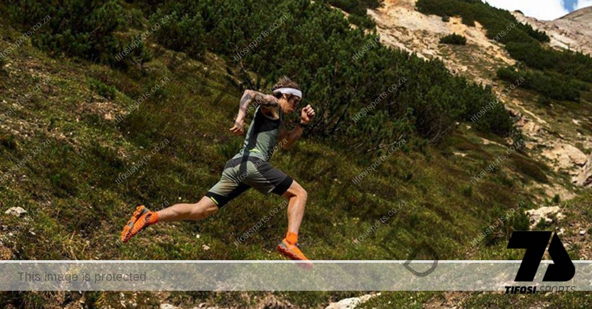 Athlete trail running with On CloudVenture - Tifosi Sports