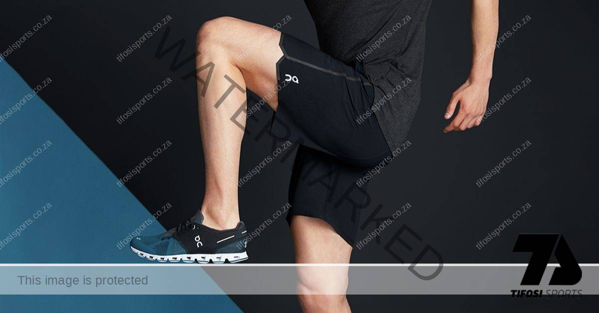 On Athlete training with On shoes and On running shorts - Tifosi Sports